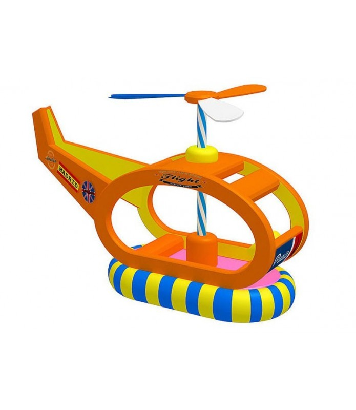 Rocking Mechanical Helicopter