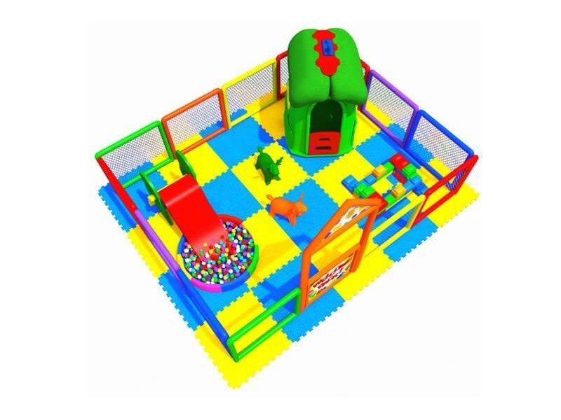Soft Area with Playground Fence 3.00 X 4.00