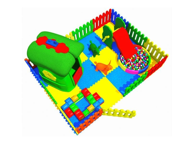 Soft Area with Plastic Fence 3.00 X 4.00
